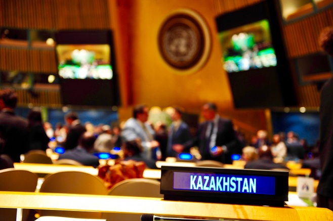 KAZAKHSTAN'S CONTRIBUTION TO WORLD STABILITY
