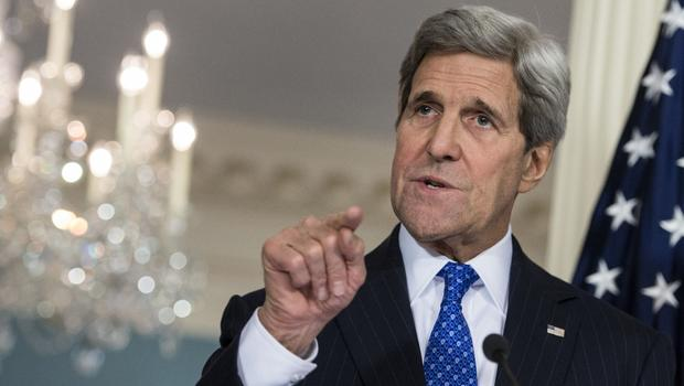 John Kerry has outlined his vision for an end to the Israeli-Palestinian conflict