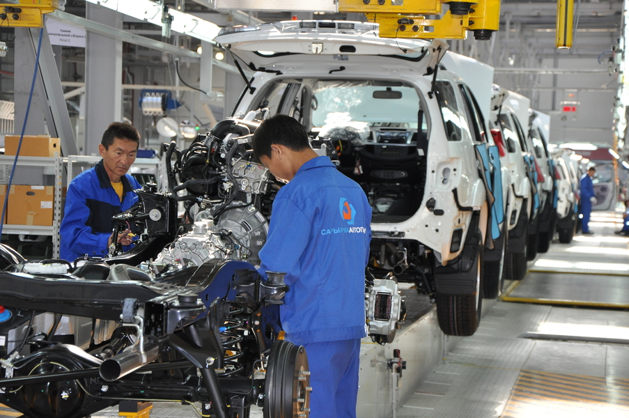 Export products of Kazakhstan's Automotive Industry