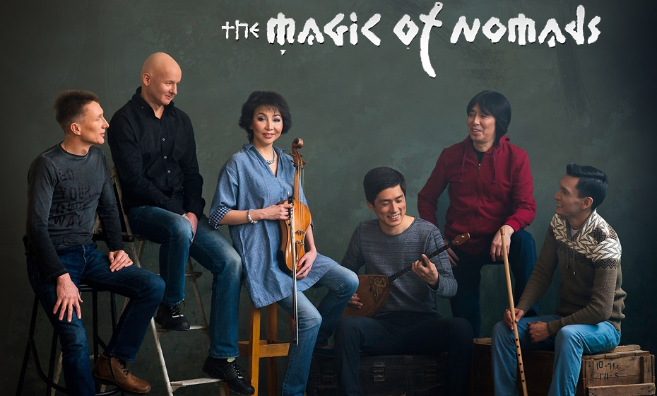 The Magic of Nomads performs in Astana