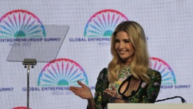 IVANKA TRUMP MEETS WOMEN ENTREPRENEURS AT GES2017 IN INDIA