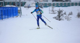 Biathlete Vishnevskaya hauls 3rd gold for Team Kazakhstan