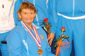 How did Zulfiya Gabidullina become the first Paralympic champion from Kazakhstan?