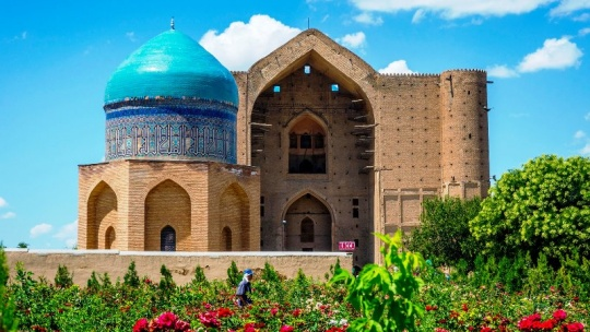 Tourist potential of Turkistan is growing year by year