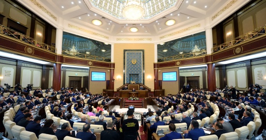 Opinions about President Nursultan Nazarbayev's initiatives
