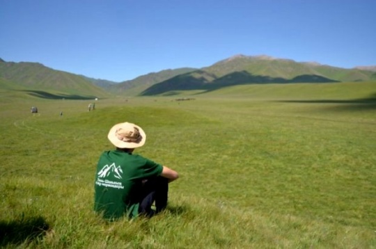 The Uly Dala Yeline Saykhat expedition trip along the New Silk Road was launched in Almaty