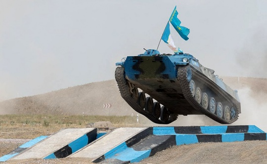 Kazakh military personnel is participating in the 4th International Army game