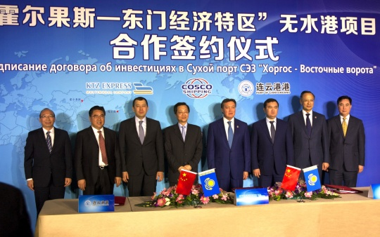 KAZAKHSTAN AND CHINA: TRANSPORT COOPERATION