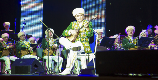 Tashkent hosted a concert by the Kurmangazy Kazakh State Academic Orchestra