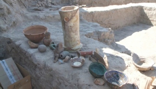 Archaeologists have discovered ancient artifacts in South Kazakhstan