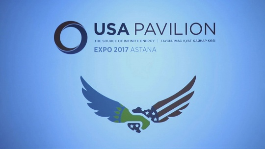 American national pavilion at Astana EXPO 2017 was showcased in Washington