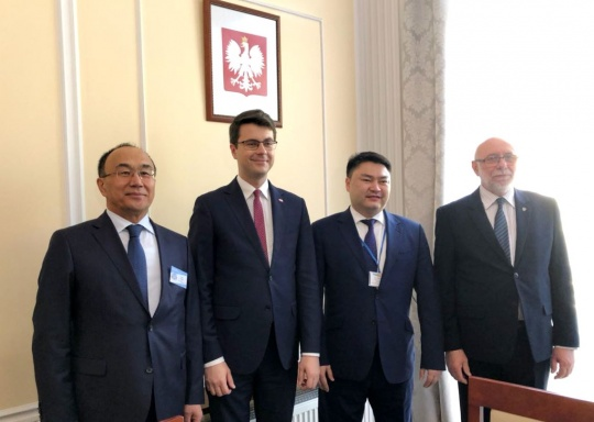 Forum of university rectors of Kazakhstan and Poland