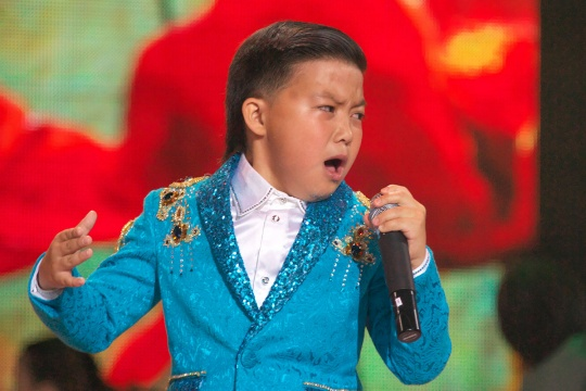 Yerzhan Maksim is one of the 10 contestants for the Junior Eurovision Song Contest