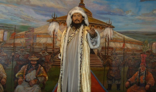 Astana hosted the Genghis Khan musical-theatrical production