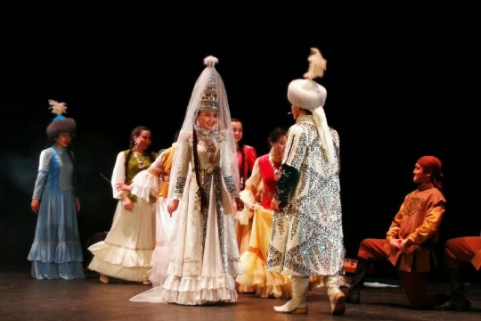 Kyz Zhibek musical premiered in the Zhastar Theater of Astana