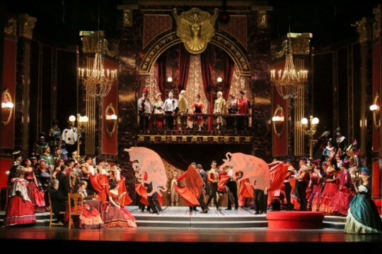 Astana Opera hosted La Traviata featuring Placido Domingo