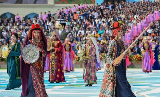Central Asia in UNESCO world heritage
