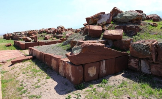 Unique ancient palace complex Akyrtas will be thoroughly studied