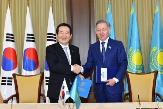 Parliament members of Kazakhstan and South Korea are set to strengthen cooperation