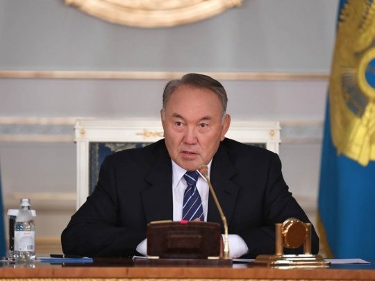 President Nazarbayev's recent state-of-the-nation address has been translated into Uzbek