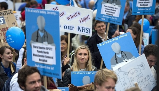 Doctors strike over pay and working conditions