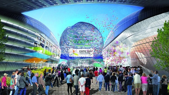 SMART INFRASTRUCTURE AT ASTANA EXPO 2017