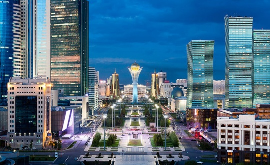 The economy of Astana has grown over five months