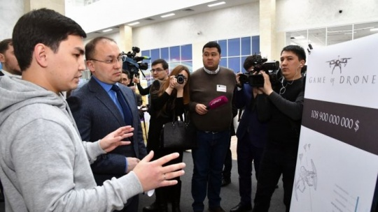 'Garage' incubator of start-up projects was launched in Astana