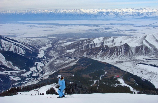 Kyrgyzstan plans to build five ski resorts around the Issyk-kul Lake