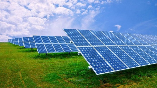 A solar power station with a capacity of two megawatts has been commissioned in the Mangystau region