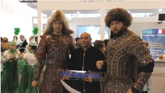 Thousands of Europeans learned more about Kazakhstan's touristic sites