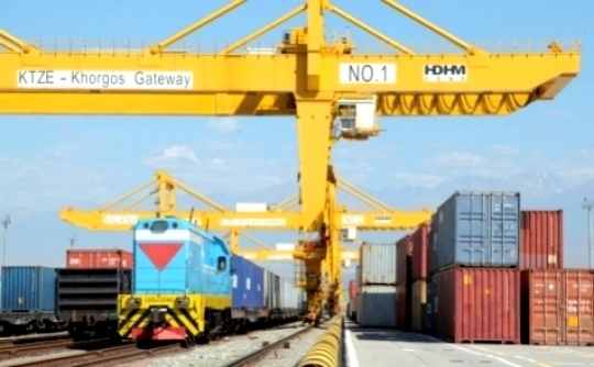 Kazakhstan is strengthening its transit potential