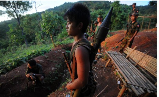 Myanmar signs peace deal with armed rebel groups