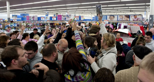 Black Friday no longer top shopping day