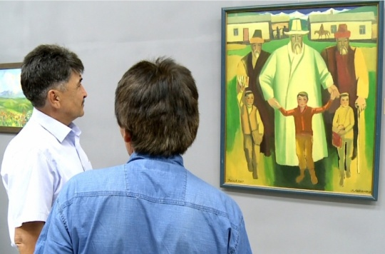 An exhibition 'Ushkonyr' was opened in the National Museum of Kazakhstan