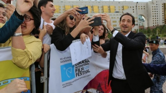 Famous Hollywood and Kazakh actors walked on the red carpet in Astana