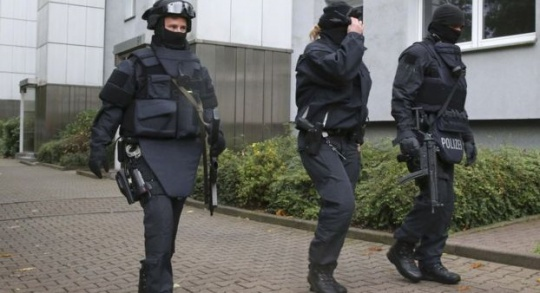 Germany bomb suspect 'caught by Syrians'