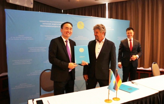 Investment opportunities in Kazakhstan's regions were presented at the Day of Economy in Munich