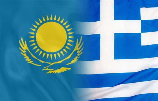 Kazakhstan and Greece are building up trade and economic cooperation