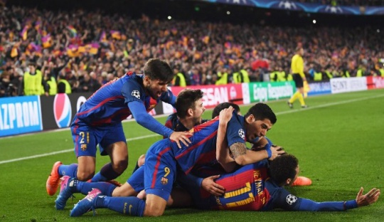 Champions League 2017: Barcelona routs Paris Saint-Germain 6-1 in astonishing comeback
