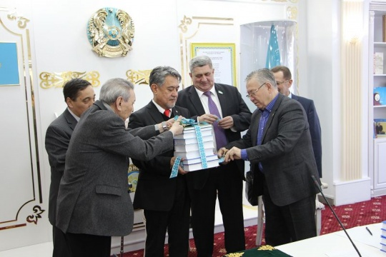 The first monograph about Alikhan Bukeikhanov was published