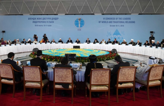 Kazakhstan is actively working on promoting peace, harmony, stability and safety