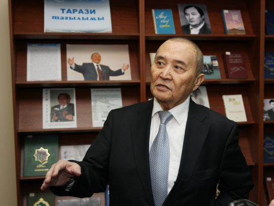 New books on the works of well-known Kazakh playwright - Akim Tarazi, were presented in Astana