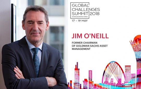 British financier Jim O'Neill opined that Kazakhstan has a great transit potential