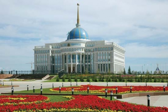 Russian President Putin on visit to Kazakhstan