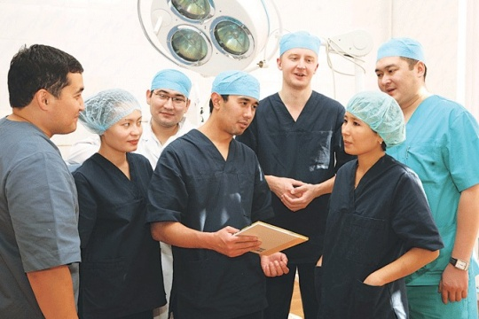Cardiologists in Almaty region establishing cooperation with German colleagues