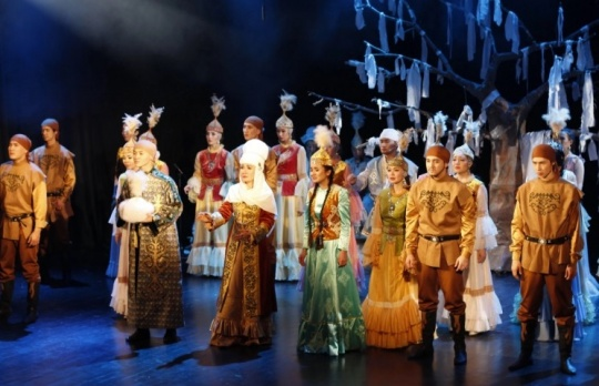 'Astana Musical' theater on tour