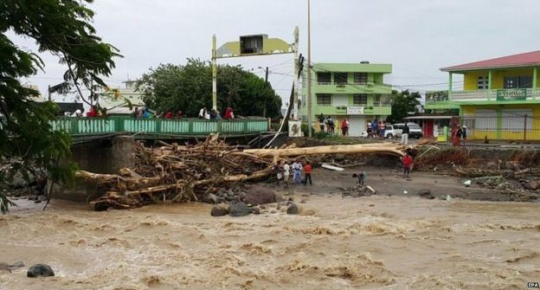Storm Erika kills 20 in Dominica