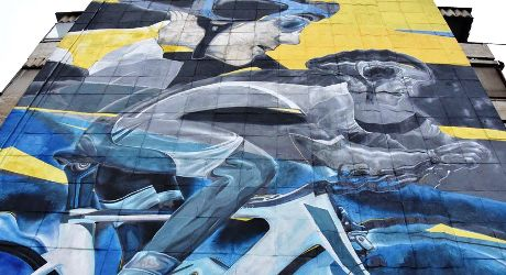 Murals In Almaty: A Fresh View Of The City Landscape
