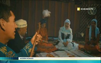 Kazakh tradition of matchmaking,
